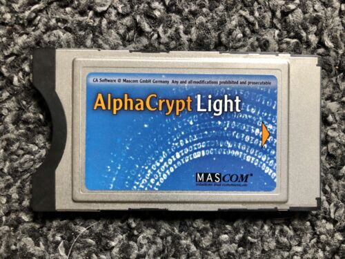 TV Karte Alpha Crypt light Mascom CI Modul Twinhan Mantis P/N 904410 R 2.3