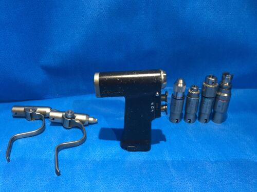 Stryker CD3 Orthopedic Cordless Driver 4300 Surgical Handpiece with Attachments