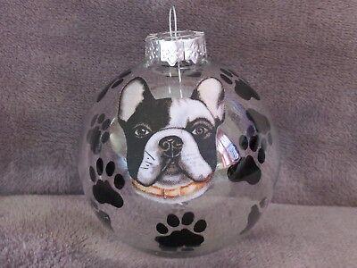 Boston Terrier Dog Ornament - HAND MADE BOSTON TERRIER DOG 3