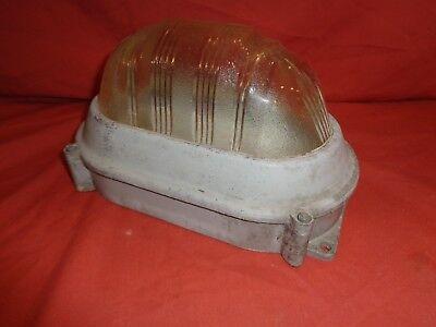 Vintage Lamp Coughtrie SR6 Industrial Bulkhead Light