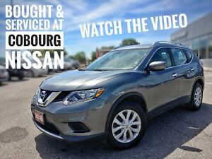 2016 Nissan Rogue S Rearview Camera & Bluetooth  FREE Delivery