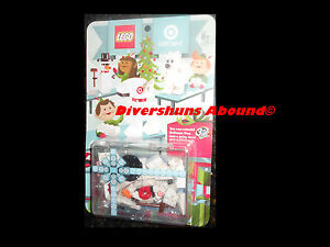 LEGO Target Gift Card Exclusive Build Bullseye Dog Polar Bear Snowman Figure