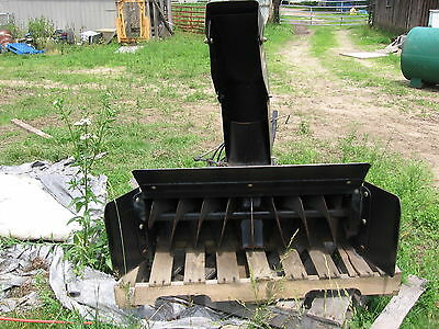 NEW HOLLAND / FORD SNOWBLOWER LS 35 LS 45 LS55 42 WITH WEIGHTS AND CHAINS