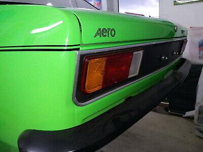 AERO Emblem Aufkleber Kadett C schwarz glanz  3 Stück