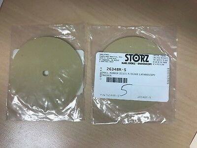 26348r-s Karl Storz  Small Rubber Disc For Laparoscopy Trainer
