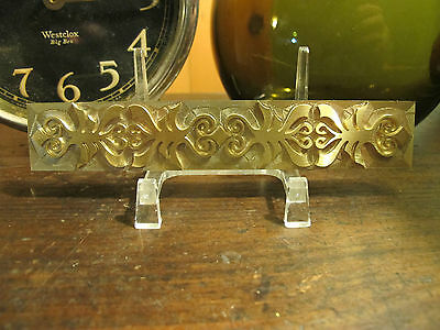 Brass Ribbon Border Or Spine Bookbinding Letterpress Tool Stamp Embossing Die
