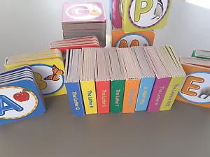 Hard board Alphabet letter books x26 Huntingdale Gosnells Area Preview