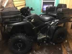 2015 Honda foreman 500 sale or trade for 4x4 truck