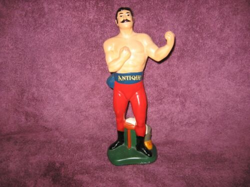 "Frankfort Distillers ""Antique"" Whiskey Display - Replacement Boxing Figure"