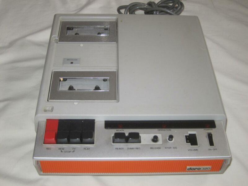 Vintage Cassette Tape Answering Machine Doro 320