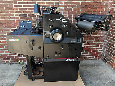 Ab Dick 9810xcs Printing Press - Lots Of Spare Parts