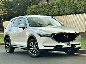 2017 Mazda CX-5 KF4W2A GT SKYACTIV-Drive i-ACTIV AWD White 6 Speed Sports Automatic Wagon Hyde Park Unley Area Preview