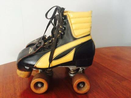 Vintage Retro quad roller skates Derby rollerskates Size 7.5 Euro Newport Hobsons Bay Area Preview
