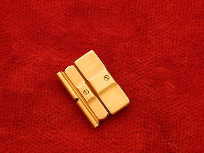100% PIAGET POLO FULL 18K YELLOW GOLD 12MM BAND BRACELET DOUBLE LINK