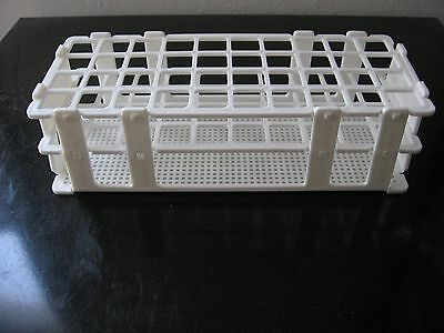 A Set Of 5plastic Test Tube Rack Stand Lab 40 Tubes 1 New