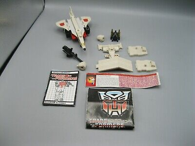 1986 Transformers More Than Meets the Eye G1 Generation 1 Autobot Silverbolt