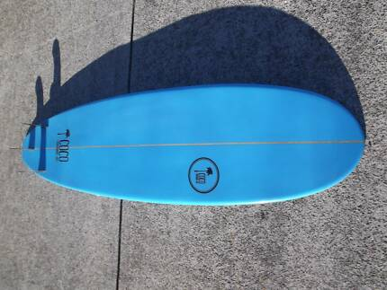 7'4 surfboard mini mal