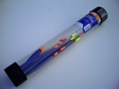 Set of 4 Assorted Middy Pete Warren Stick Floats.Superb River Float.Roach /& Chub