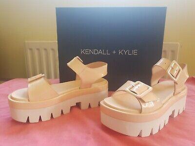 KKWAVE Kendall And Kylie Pink Summer Sandal Size 2