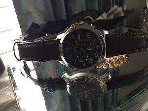 Brand new authentic fossil men's watch!