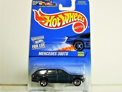 HOT WHEELS 1997 MERCEDES MBZ 300TD STATION WAGON NEW IN PACKAGE HARD TO FIND