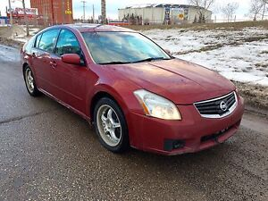2008 Nissan Maxima SE, Fully Loaded, Installed New Engine
