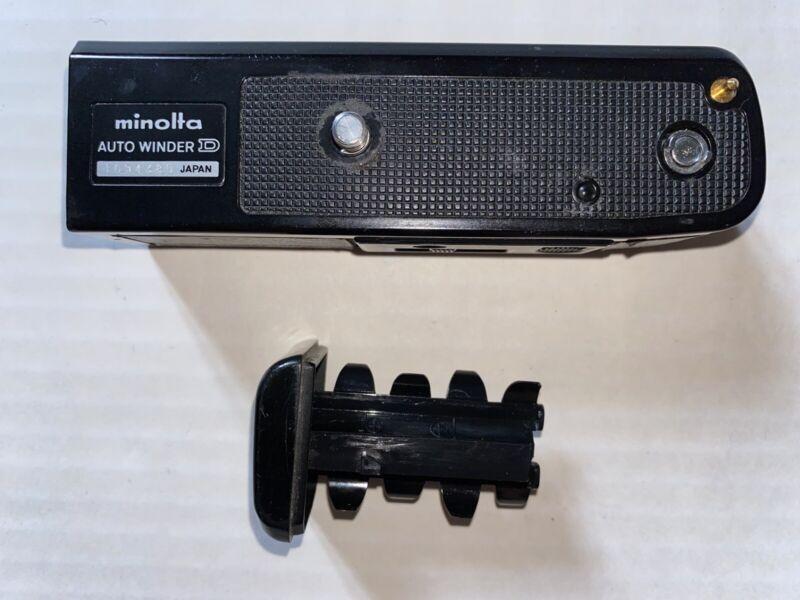Minolta Autowinder D motor drive for XD series cameras