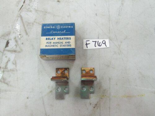 General Electric Overload Relay F77.2B Box of 2 (NIB)