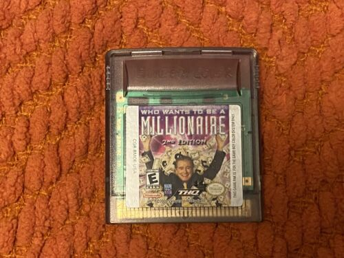 Who Wants To Be A Millionaire Nintendo Game Boy Color Cartridge - $4.00