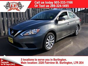 2017 Nissan Sentra SV, Automatic, Heated Seats,