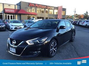 2018 Nissan Maxima SL, w/leather, NAV, Roof