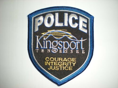 KINGSPORT, TENNESSEE POLICE DEPARTMENT PATCH