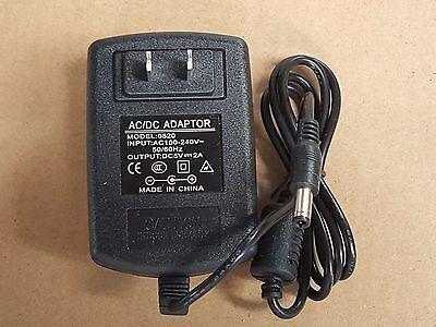 5V 2A Power Supply Wall Wart - 5VDC 5V-2A + 5.5mm x 2.1mm Plug NICE! *US SHIP*