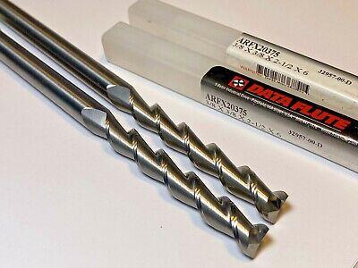 Data Flute Carbide Endmill 38 X 38 X 2.5 Loc X 6 Oal X 2fl