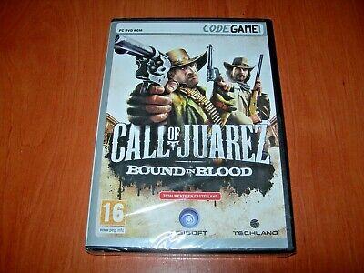 CALL OF JUAREZ BOUND IN BLOOD PC (EDICIÓN ESPAÑOLA PRECINTADO)