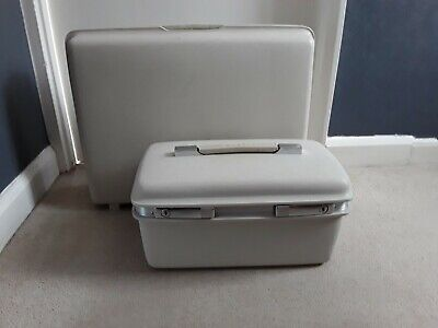 Samsonite Saturn Vintage Suitcase and Vanity Case