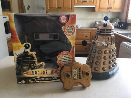 Doctor Who Radio Controlled Dalek  Carlingford The Hills District Preview