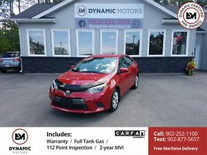 2016 Toyota Corolla LE ONLY 13k! CAMERA! OWN FOR $141 B/W, 0...