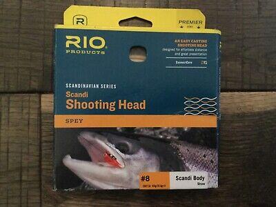 Rio Steelhead Scandi Shooting Head Fly Line 450 Grain 33ft GREAT NEW
