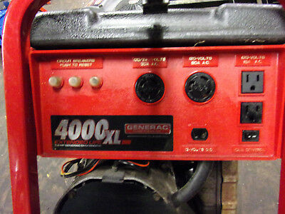 Generac Generator 4000xl Portable