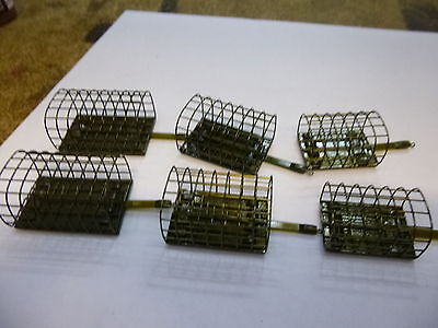 - Drennan Stainless Cage Feeders x6 med/large  /xl  soft pellet??