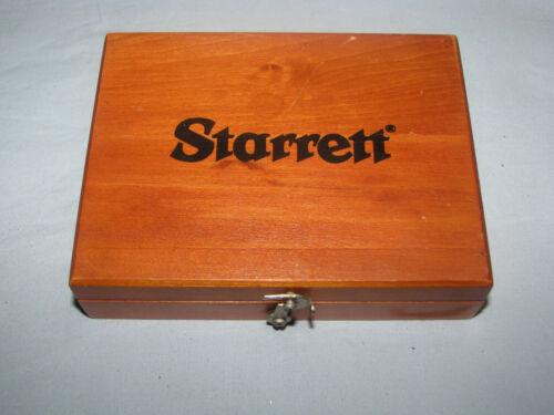 L.S. Starrett No 20 Precision Square w/Wood Case Used