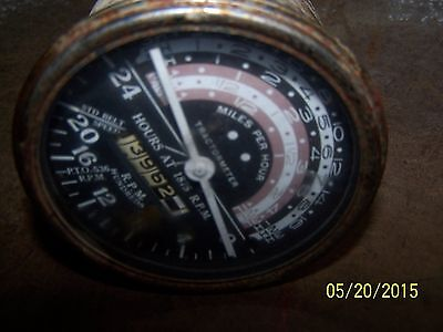 Mf Massey Ferguson 65 Tractor Tachometer Hour Meter And Cable