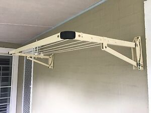 2 x Daytek Clotheslines 1.5m • 5 lines • Cream colour Bomaderry Nowra-Bomaderry Preview