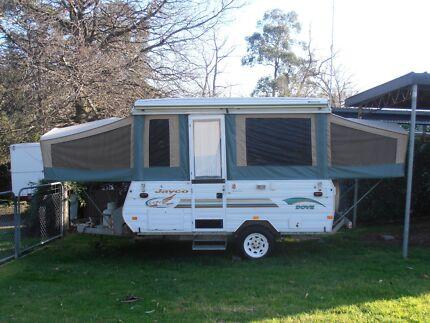 Jayco Dove 2002 semi off-road family van Healesville Yarra Ranges Preview