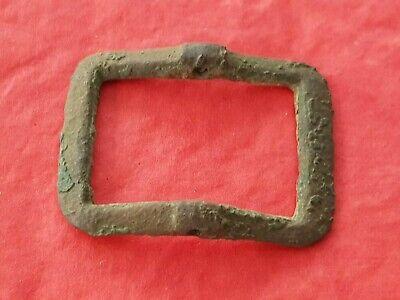 Lovely rare design 17 hundreds bronze buckle. Please read description. L39i