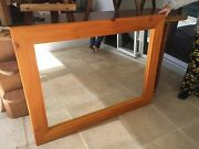 Large timber frame mirror Thornlands Redland Area Preview