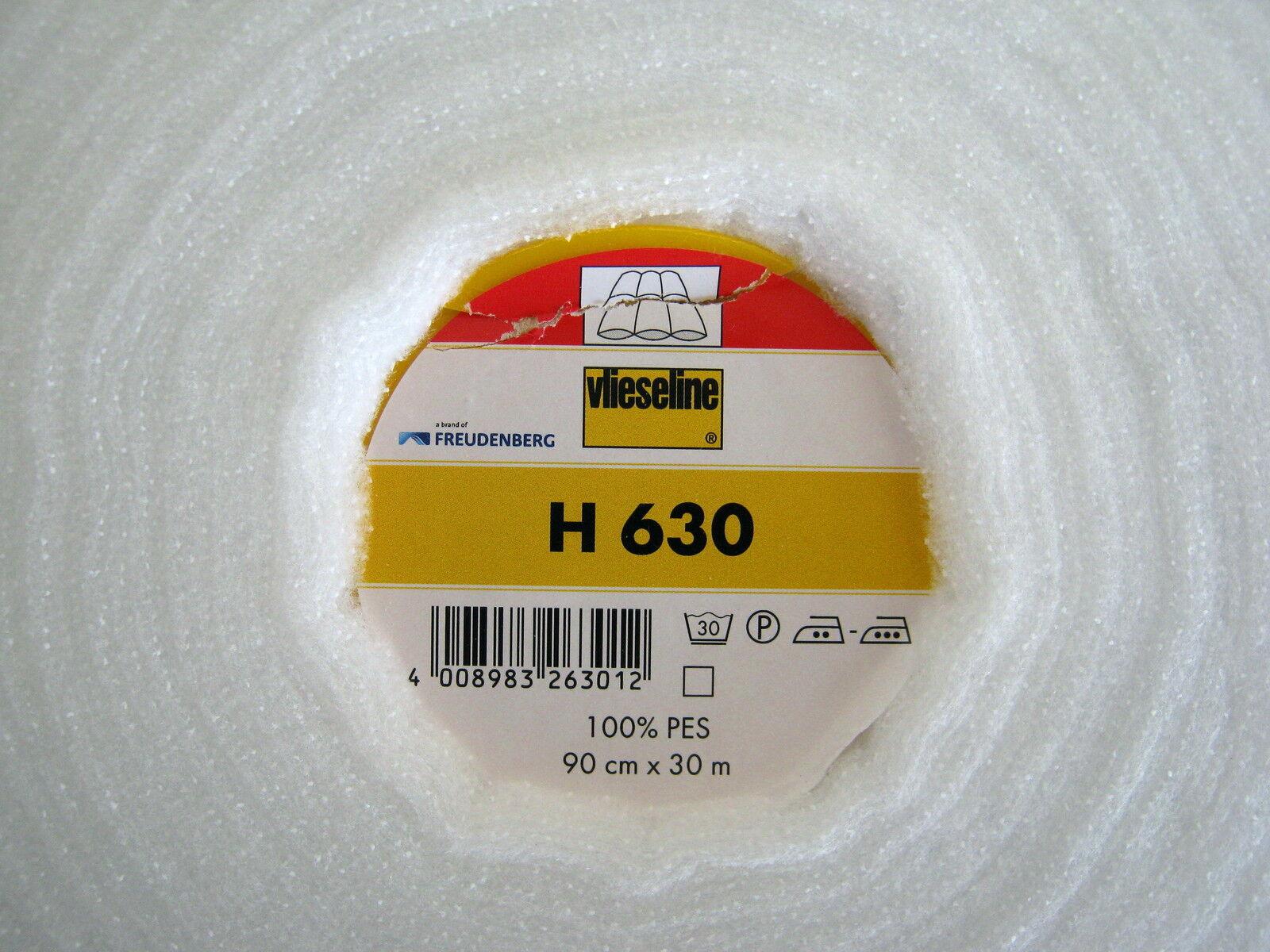 1/2 metre x 90cm  VILENE H630  Low loft Iron on Fusible Fleece Wadding (Pellon)