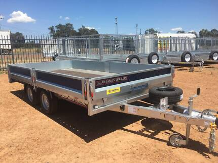 FLAT TOP TRAILER _- 3500kg - NO ELECTRIC BRAKES REQUIRED