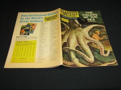 Classics Illustrated:#56 TOILERS OF THE SEA (Ed.2) HRN 165 (2/49) F/FVF